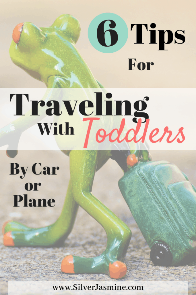 Traveling with toddlers by road or plane can be tough. Here are 6 things I ALWAYS do to survive our family vacations! #roadtripwithkids #Roadtripwithtoddlers #travelingwithbaby