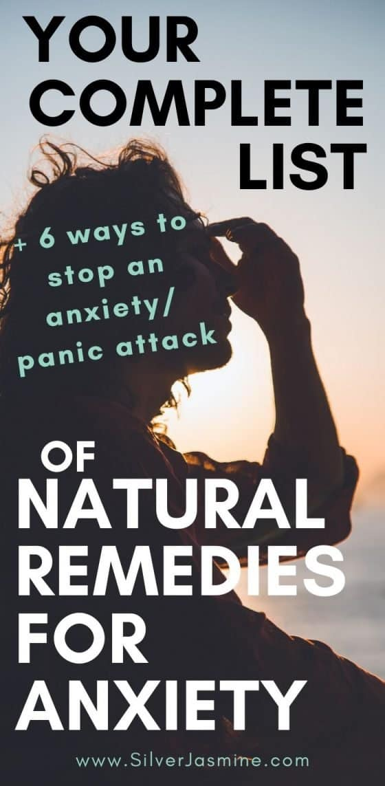 Here is a complete list of how to get relief from anxiety naturally. Plus 6 ways to stop an anxiety attack or panic attack. Anxiety Coping Skills | Natural anxiety relief | anxiety remedies #anxietyremedies #anxietycopingskills #anxietyrelief #Anxietyattack #panicattack