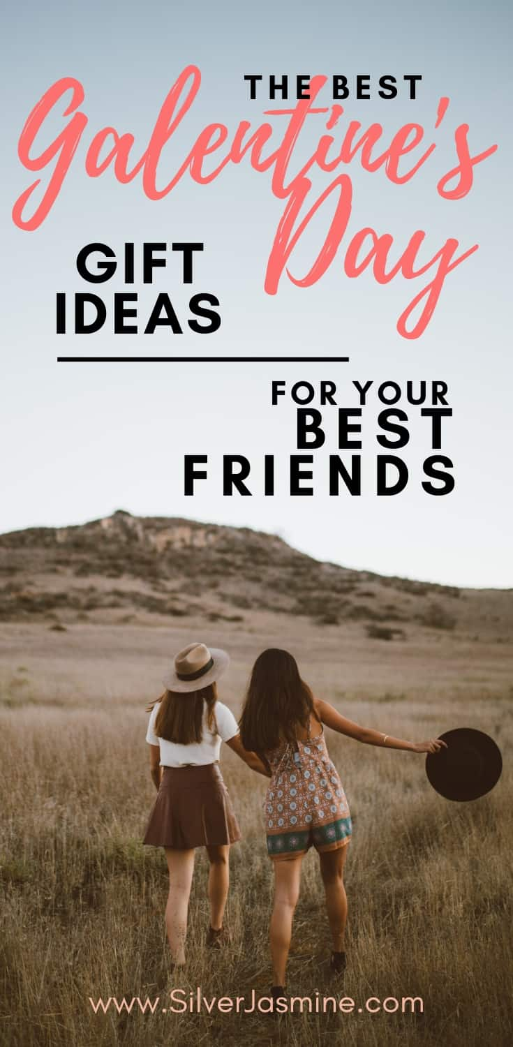 We all know Valentine\'s Day will be a day for our lover.  But you know what day is even better?  Galentine\'s Day!  Here is a list of the best gifts EVER to give to your best friends to show them how much you love them. #valentinesday #valentinesdaygifts