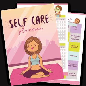 self care planner from straycurls.com