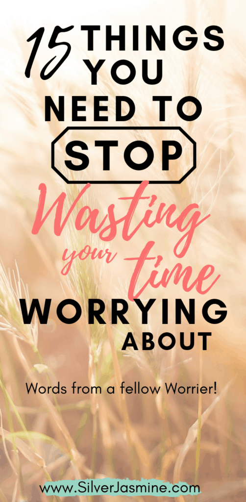 Speaking of time management and using our time wisely, let's quickly talk about things we need to stop wasting our time on!