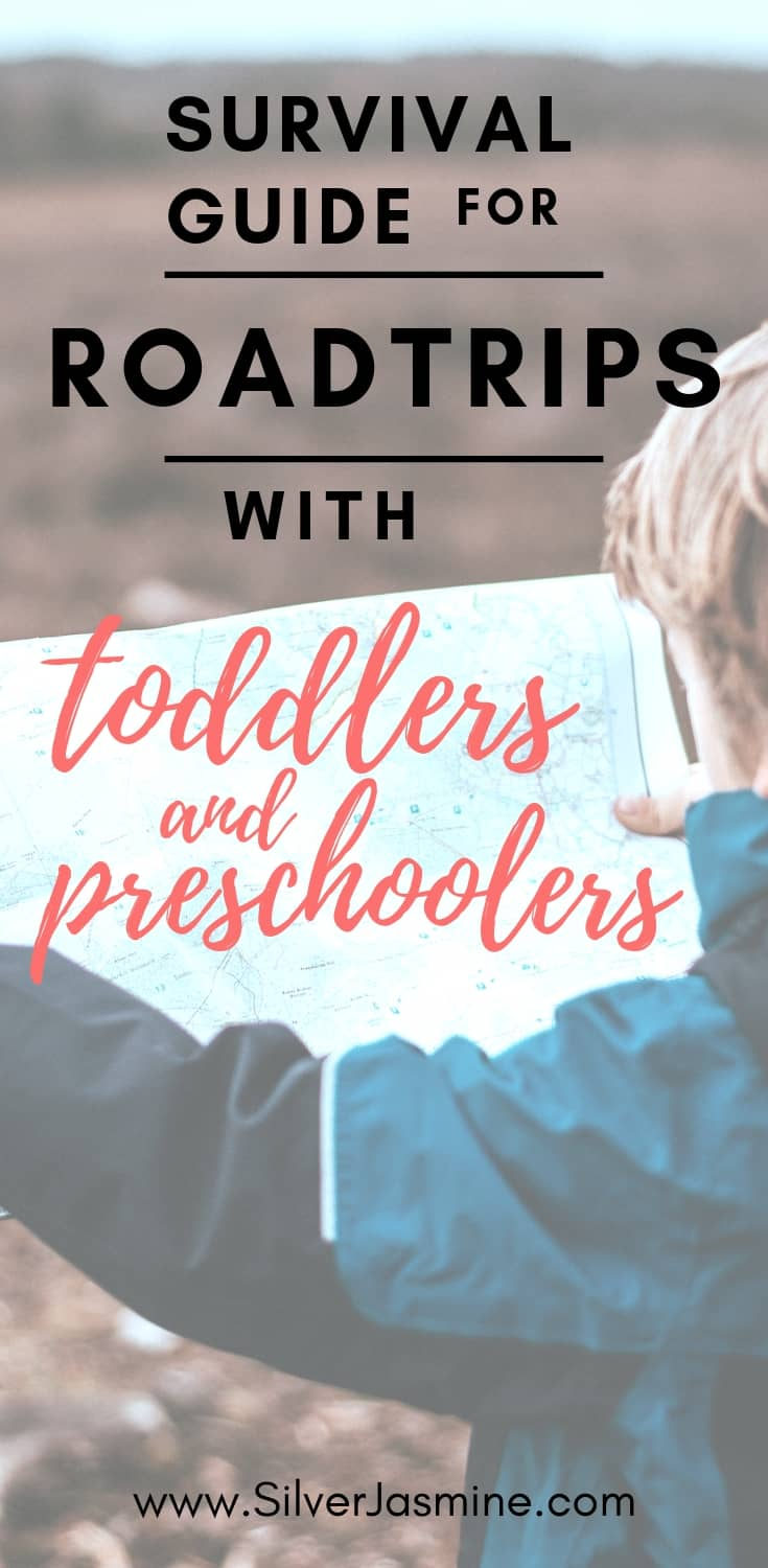 Traveling with toddler and preschool aged kids by road or plane can be tough. Here are 6 things I always do to survive our roadtrips with kids. 