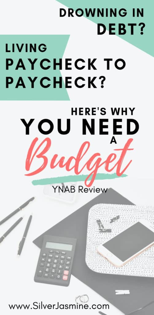 Tired of living paycheck to paycheck? Ready to pay off the mound of debt weighing on your shoulders and preventing you from LIVING? You need a budget! (YNAB Review)  #budgetingforbeginners #budget #budgetingfinances #ynab