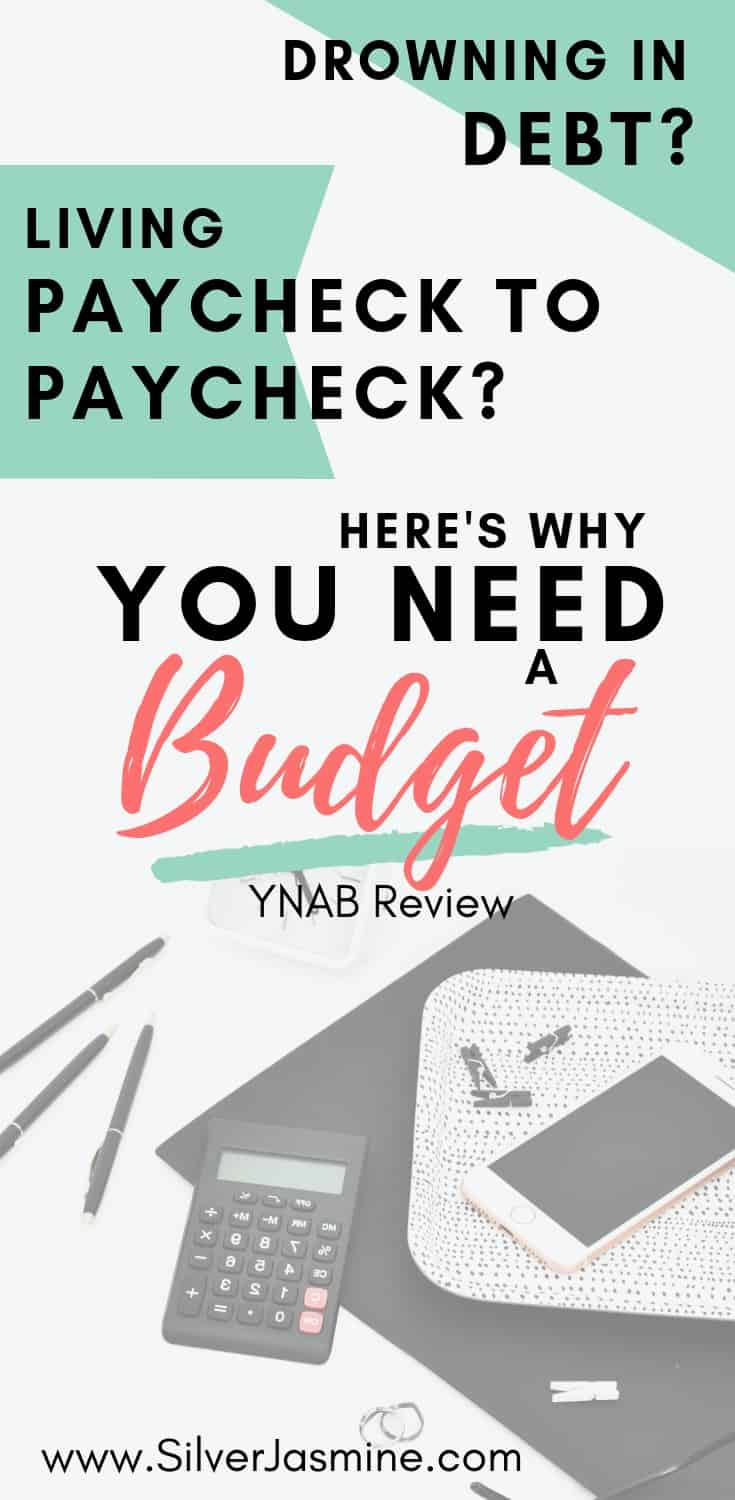 Tired of living paycheck to paycheck? Ready to pay off the mound of debt weighing on your shoulders and preventing you from LIVING? You need a budget! (YNAB Review) 