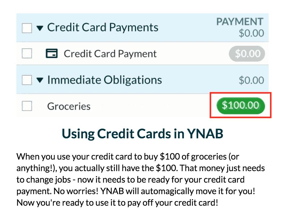YNAB Credit Card Payment