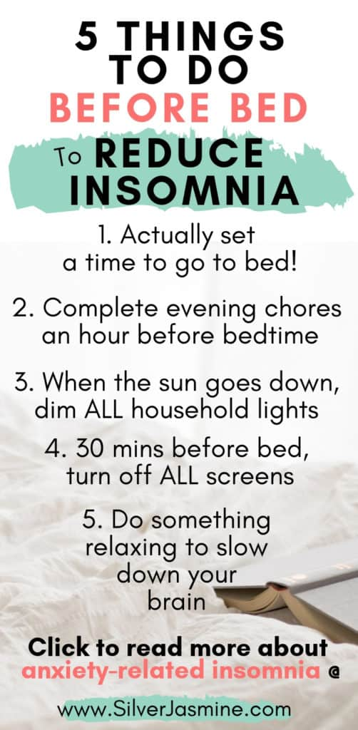 Creating a bedtime routine can help slow your mind down enough to fall asleep quicker and easier.  Here is my nighttime routine to help me reduce insomnia and fall asleep faster. | Adult Bedtime Routine  #bedtime   #bedtimeroutine #nighttimeroutine #insomnia #bedtimeroutineforadults #nighttimeroutineforadult