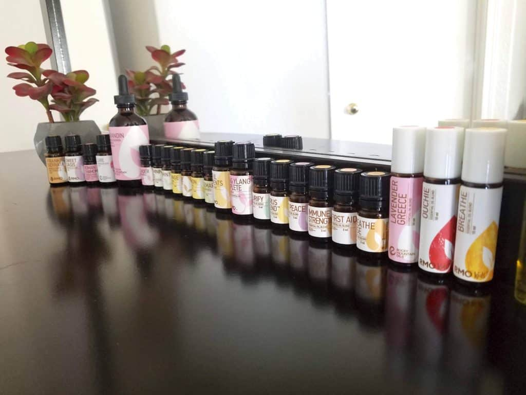 My-essential-Oils-stash from Rocky Mountain Oils
