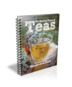 Book cover: The Healing Power of Teas by Rosalee de la Foret