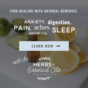 herbs & essential oils super bundle - find healing or anxiety with natural remedies