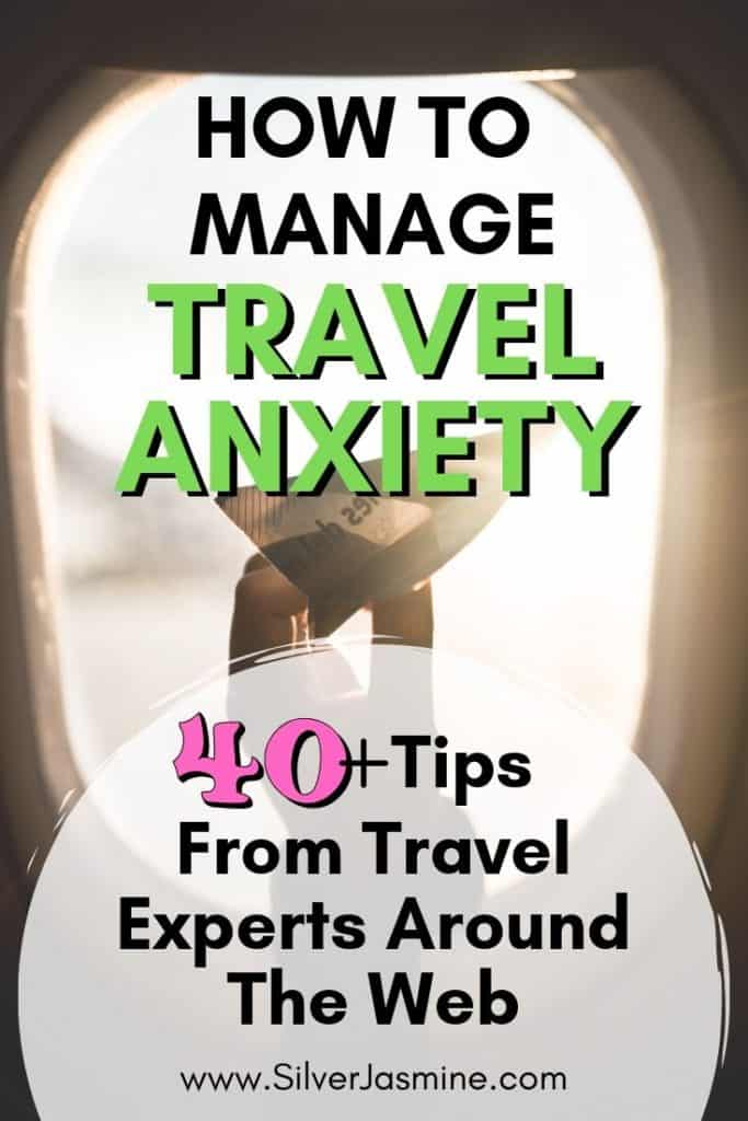 Want to travel but your anxiety is stopping you? Here are 40+ ways to manage your travel anxiety for a stress-free vacation.  Travel anxiety relief. Travel anxiety strategies.  Overcoming travel anxiety. #travelanxiety