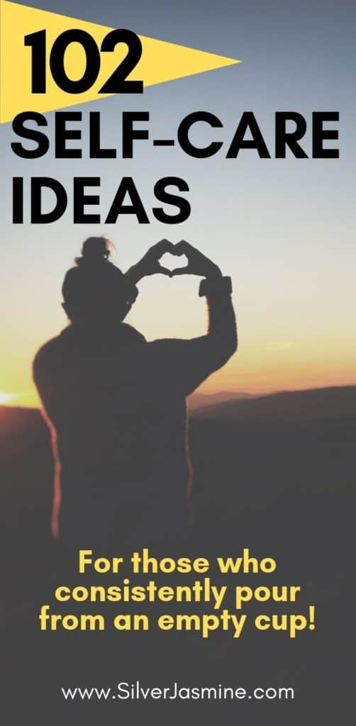 What even is self-care?! Not into bubble baths and spa dates? Here are 102 Self Care Ideas for a healthy mind. Self-Care | Mental Health | Self-Love | Anxiety | Self Care Tips