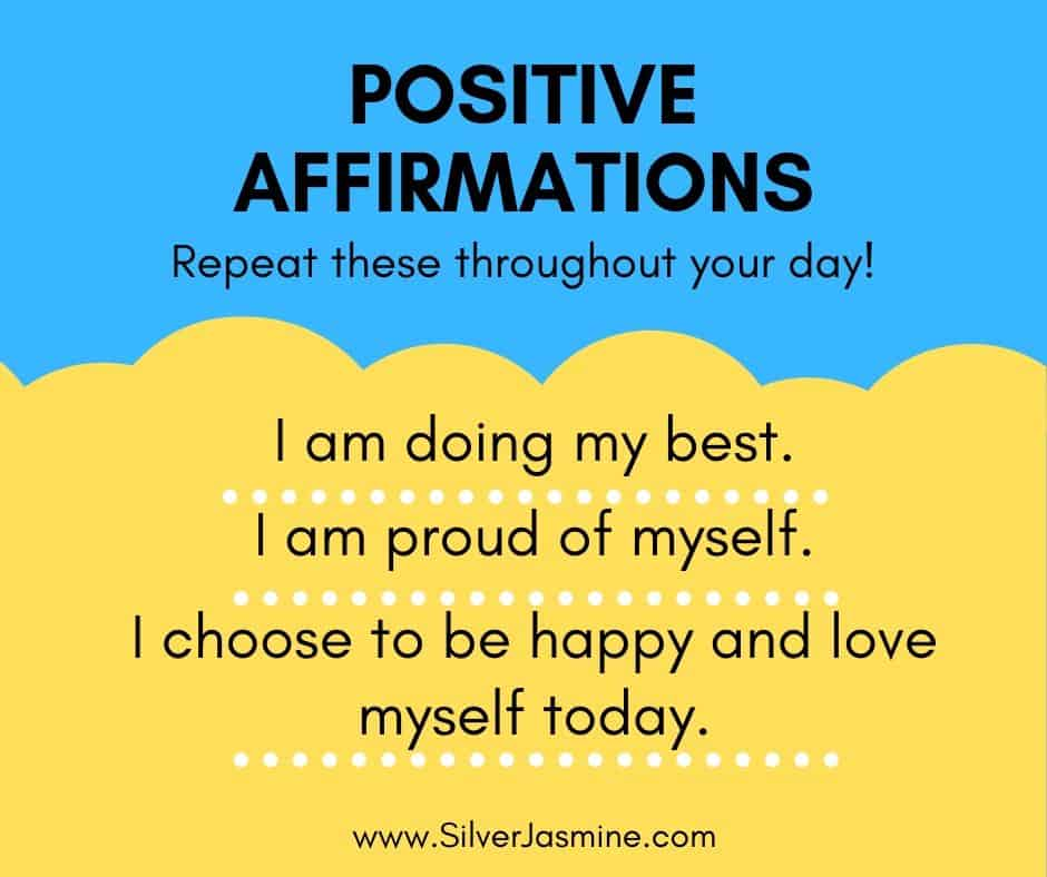 3 Positive affirmations