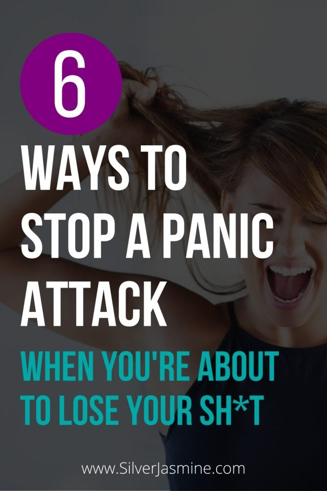 6 Ways To Stop A Panic Attack When You're About To Lose Your Sh*t
