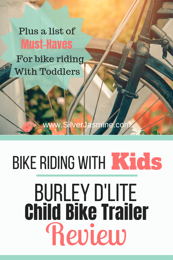 Bike riding with kids - Burley D'Lite Child Bike Trailer review